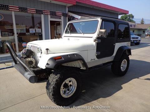 1984 Jeep CJ-7 for sale in Enterprise, OR