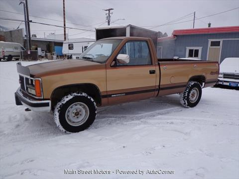 1989 GMC Sierra 2500 for sale in Enterprise, OR