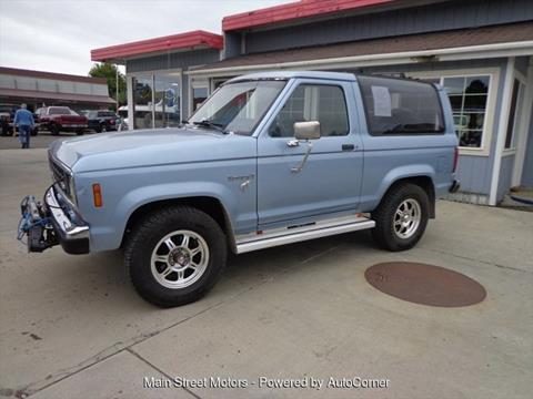 1986 Ford Bronco Ii For Sale In Enterprise Or