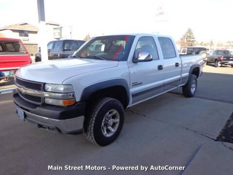 2001 Chevrolet Silverado 2500HD for sale at MAIN STREET MOTORS in Enterprise OR