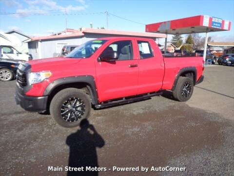 2015 Toyota Tundra for sale at MAIN STREET MOTORS in Enterprise OR