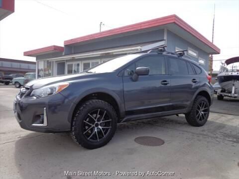 2017 Subaru Crosstrek for sale at MAIN STREET MOTORS in Enterprise OR