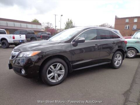 2014 Acura RDX for sale at MAIN STREET MOTORS in Enterprise OR
