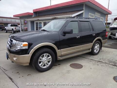 2014 Ford Expedition XLT for sale at MAIN STREET MOTORS in Enterprise OR