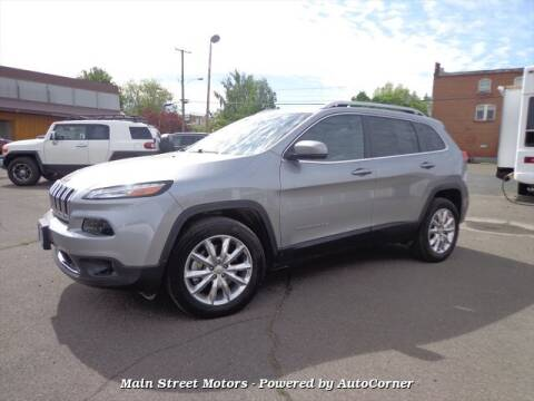 2017 Jeep Cherokee Limited for sale at MAIN STREET MOTORS in Enterprise OR