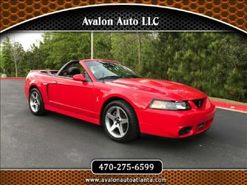 2004 Ford Mustang SVT Cobra for sale in Alpharetta, GA