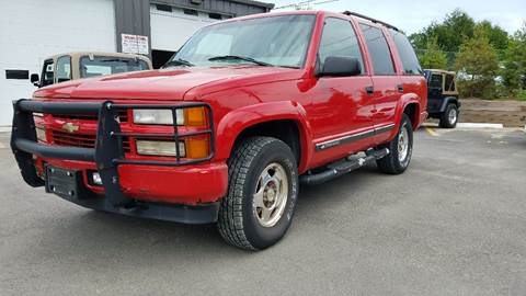 2000 Chevrolet Tahoe Limited/Z71 for sale in Ashland, MA