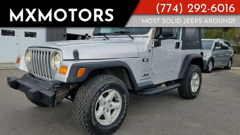 2006 Jeep Wrangler For Sale At MXMotors In Ashland MA