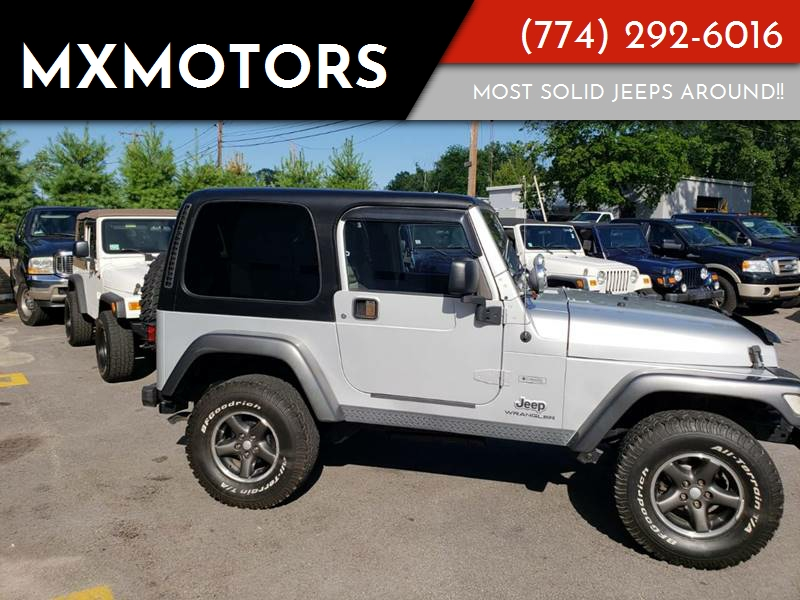 2004 Jeep Wrangler For Sale At MXMotors In Ashland MA