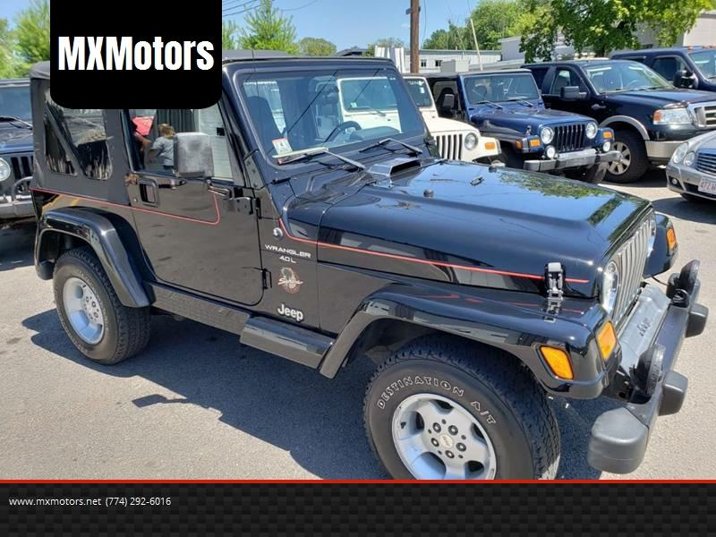 2000 Jeep Wrangler For Sale At MXMotors In Ashland MA