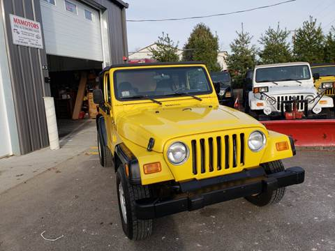 2001 Jeep Wrangler for sale in Ashland, MA