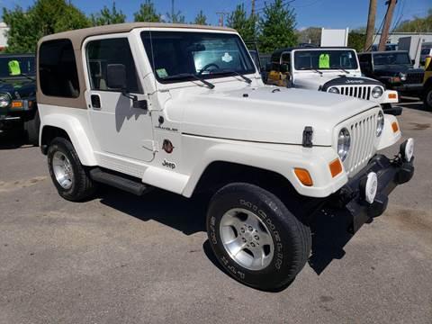 2002 Jeep Wrangler for sale in Ashland, MA