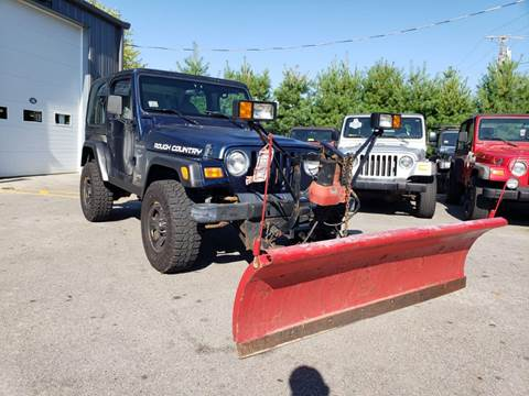 2000 Jeep Wrangler for sale in Ashland, MA
