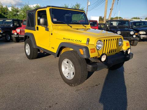 2004 Jeep Wrangler for sale in Ashland, MA
