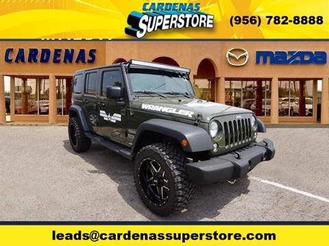 2016 Jeep Wrangler Unlimited for sale in Pharr, TX