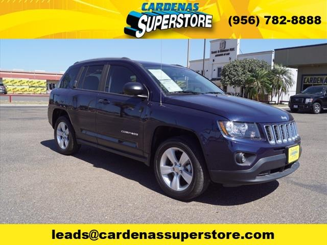2016 Jeep Compass for sale at Cardenas Superstore in Pharr TX