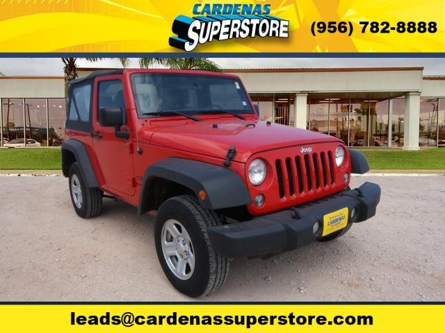2015 Jeep Wrangler for sale at Cardenas Superstore in Pharr TX