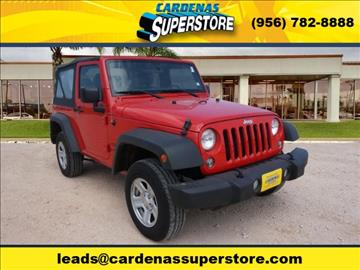 2015 Jeep Wrangler for sale in Pharr, TX