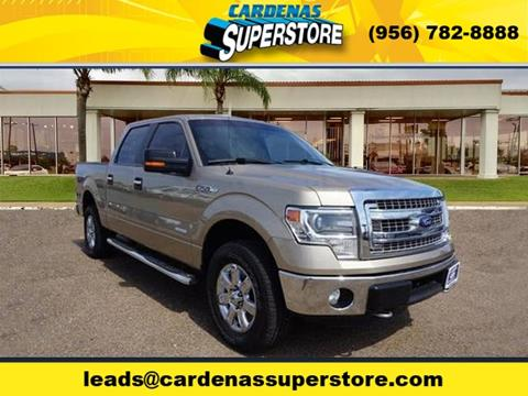 2014 Ford F-150 for sale at Cardenas Superstore in Pharr TX