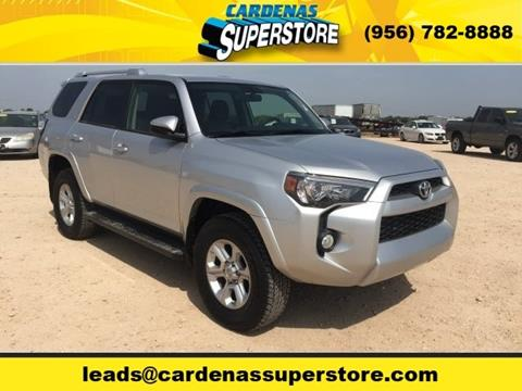 2016 Toyota 4Runner for sale at Cardenas Superstore in Pharr TX