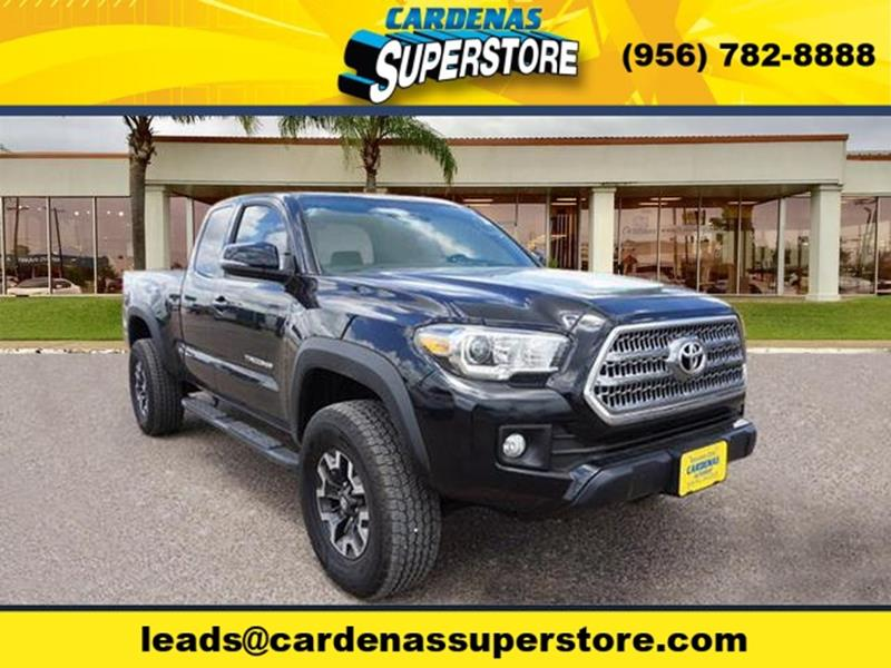 2016 Toyota Tacoma for sale at Cardenas Superstore in Pharr TX