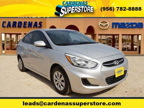 2015 Hyundai Accent for sale at Cardenas Superstore in Pharr TX