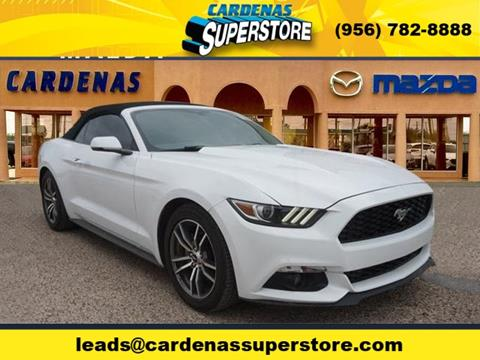 2017 Ford Mustang for sale in Pharr TX