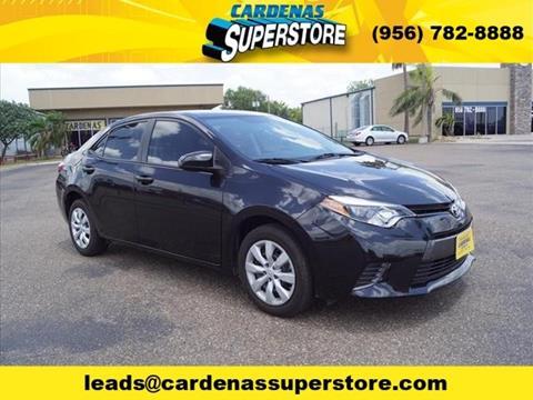 2016 Toyota Corolla for sale in Pharr TX