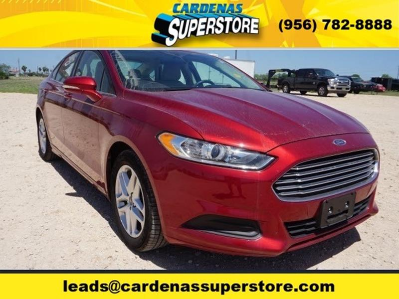 2016 Ford Fusion for sale at Cardenas Superstore in Pharr TX
