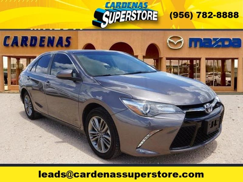 2016 Toyota Camry for sale at Cardenas Superstore in Pharr TX