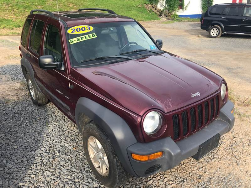 2003 Jeep Liberty for sale at Auto Town Used Cars in Morgantown WV