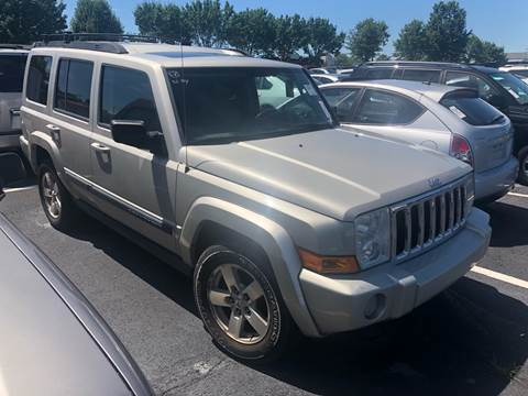 2008 Jeep Commander for sale at Auto Town Used Cars in Morgantown WV