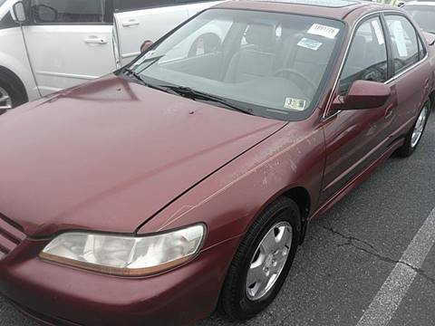 2002 Honda Accord for sale at Auto Town Used Cars in Morgantown WV
