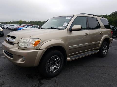 2005 Toyota Sequoia for sale at Auto Town Used Cars in Morgantown WV