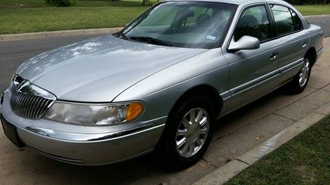 1999 Lincoln Continental for sale in Fort Worth, TX