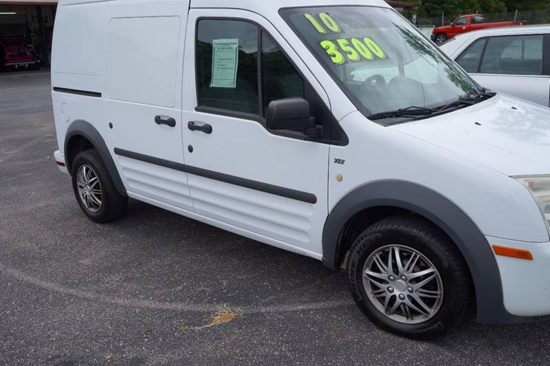 2010 Ford Transit Connect for sale at G & R Auto Sales in Charlestown IN