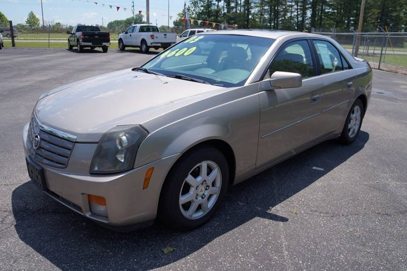 2003 Cadillac CTS for sale at G & R Auto Sales in Charlestown IN