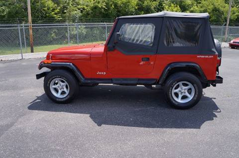 1991 Jeep Wrangler for sale at G & R Auto Sales in Charlestown IN