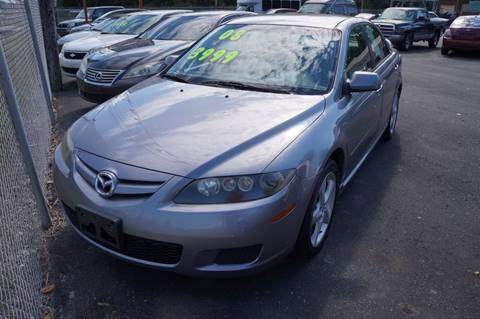2008 Mazda MAZDA6 for sale at G & R Auto Sales in Charlestown IN