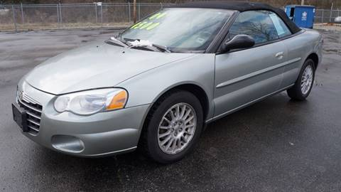 2004 Chrysler Sebring Touring for sale at G & R Auto Sales in Charlestown IN