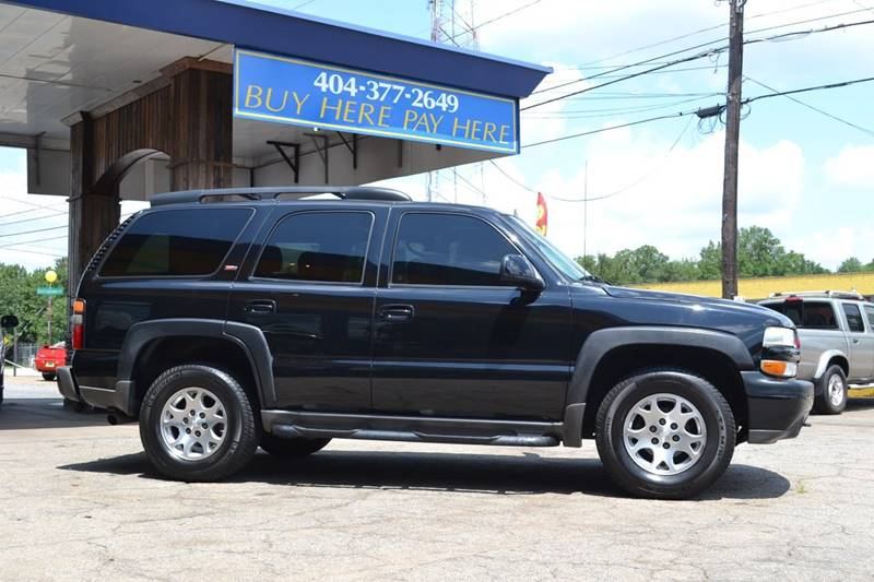 2006 Chevrolet Tahoe for sale at CENTRAL AUTO SALES in Decatur GA