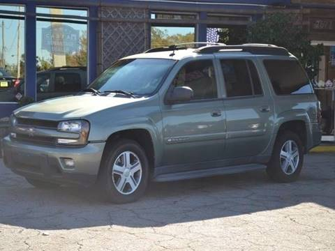 2004 Chevrolet TrailBlazer EXT for sale at CENTRAL AUTO SALES in Decatur GA
