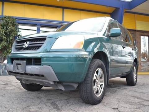 2003 Honda Pilot for sale at CENTRAL AUTO SALES in Decatur GA