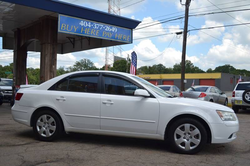 2009 Hyundai Sonata for sale at CENTRAL AUTO SALES in Decatur GA