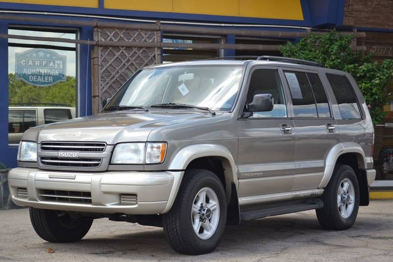2001 Isuzu Trooper for sale at CENTRAL AUTO SALES in Decatur GA