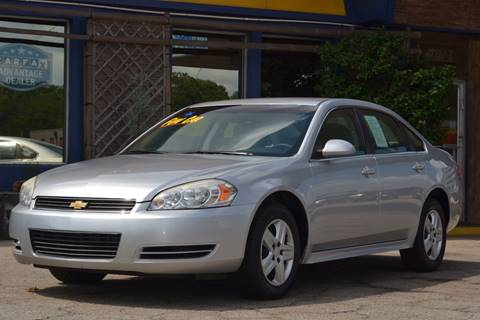 2010 Chevrolet Impala for sale at CENTRAL AUTO SALES in Decatur GA