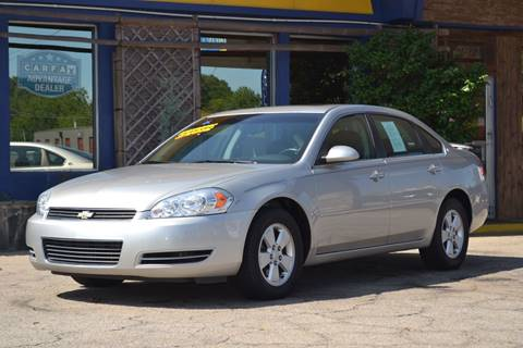 2008 Chevrolet Impala for sale at CENTRAL AUTO SALES in Decatur GA