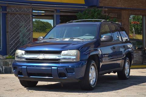 2002 Chevrolet TrailBlazer for sale at CENTRAL AUTO SALES in Decatur GA