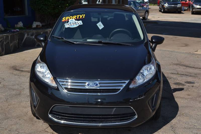 2012 Ford Fiesta for sale at CENTRAL AUTO SALES in Decatur GA