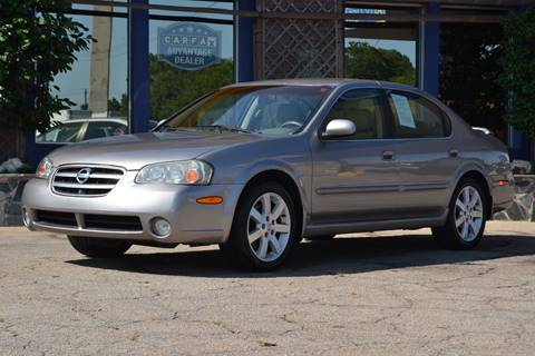 2003 Nissan Maxima for sale at CENTRAL AUTO SALES in Decatur GA